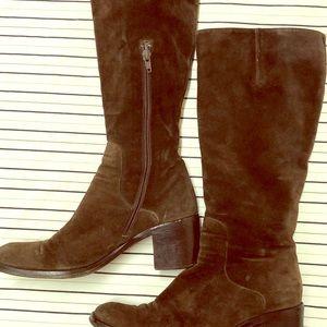 Via Spiga Genuine Suede calf boots sz 8.5 B